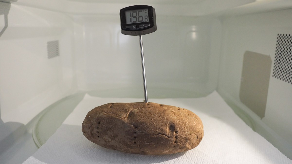 Baked Potato Internal Temperature  How to Choose a Microwave