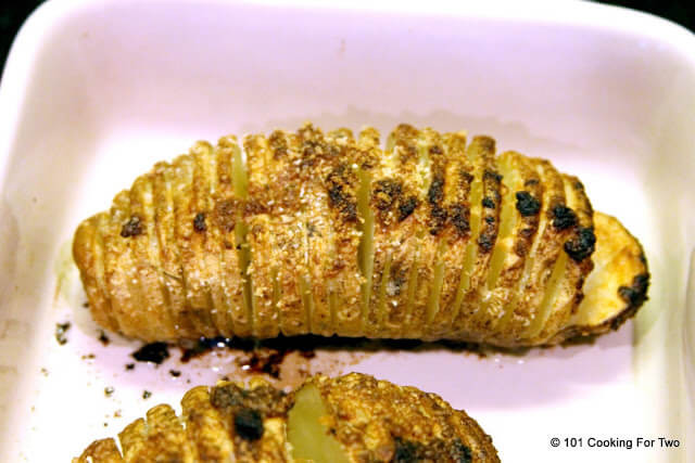 Baked Potato Internal Temperature  Hasselback Potatoes