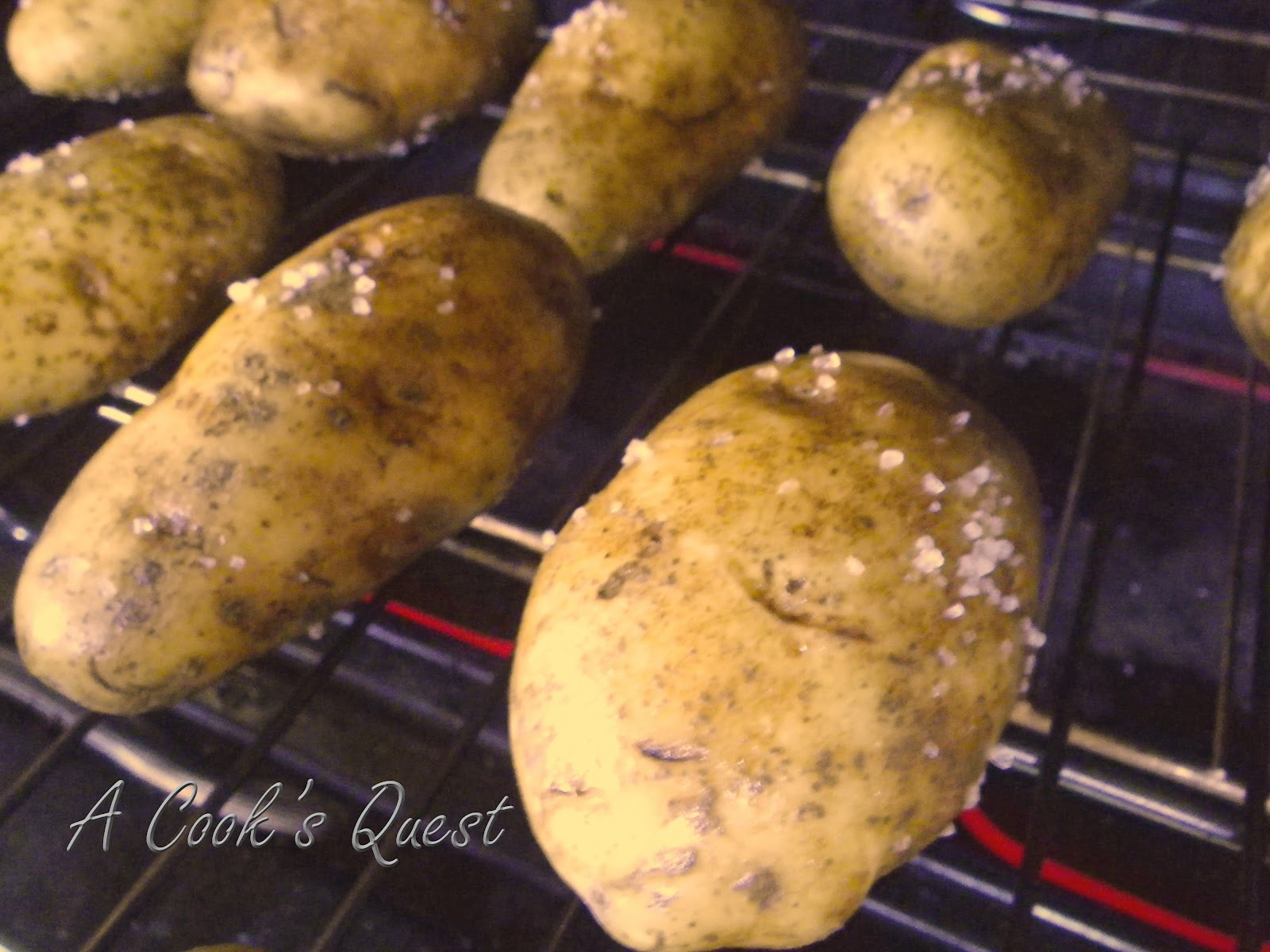 Baked Potato Oven  A Cook s Quest Baked Potatoes