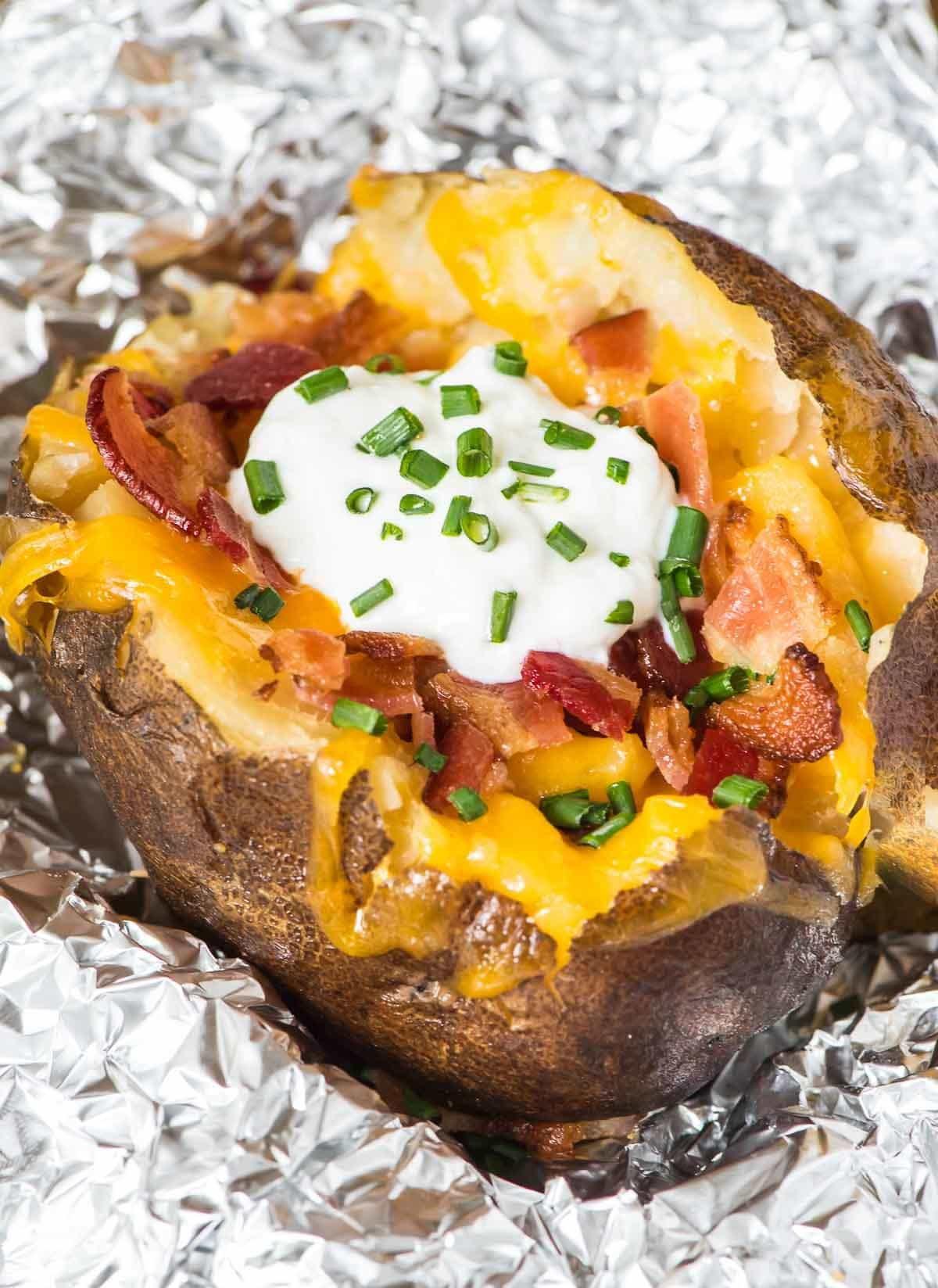 Baked Potato Recipe  How to Make Crock Pot Baked Potatoes
