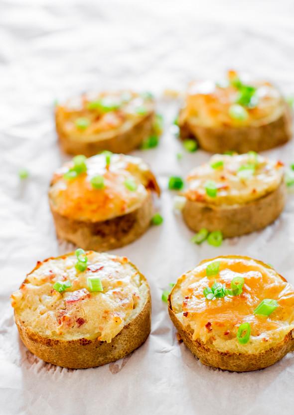Baked Potato Slices  TWICE BAKED POTATO SLICES – Recipes for Diabetes Weight