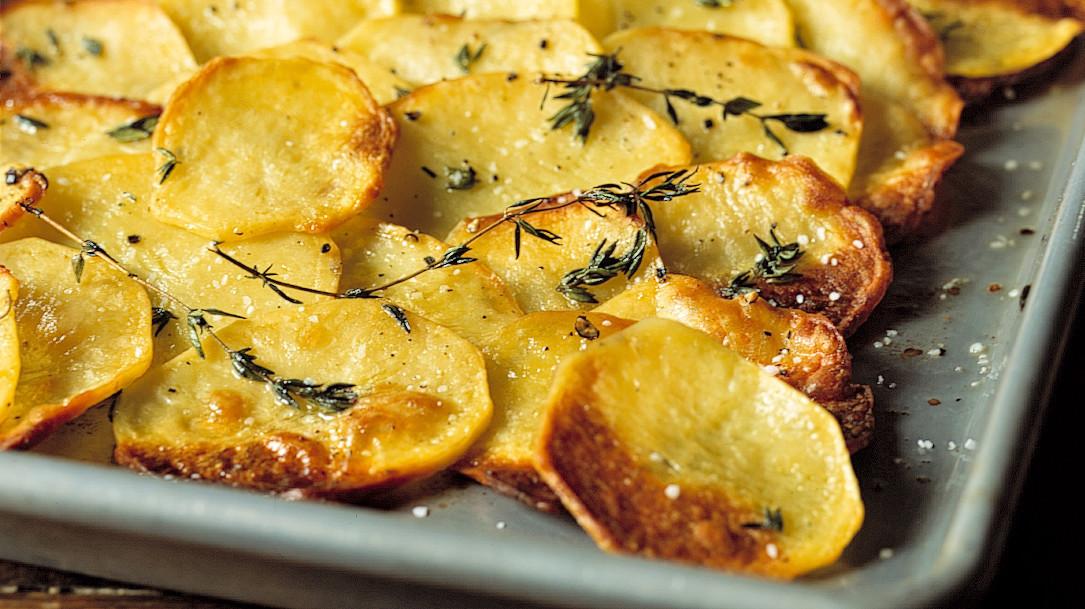 Baked Potato Slices  Baked Potato Slices