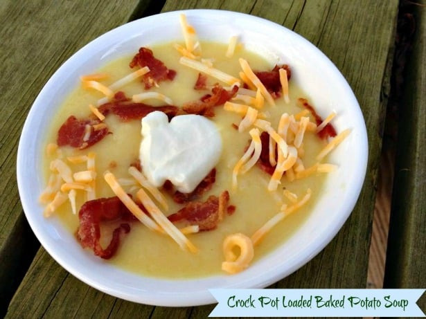 Baked Potato Soup Crock Pot  Soups and Stews for Fall