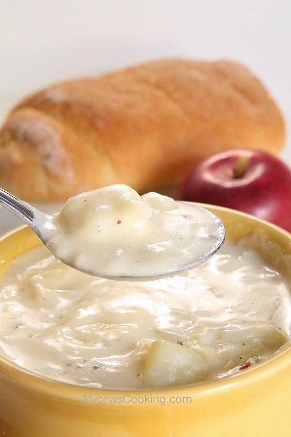 Baked Potato Soup Panera  Baked Potato Soup Panera Bread Copycat Recipe
