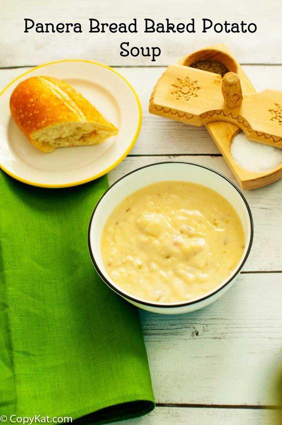 Baked Potato Soup Panera  Panera Bread Baked Potato Soup Recipe