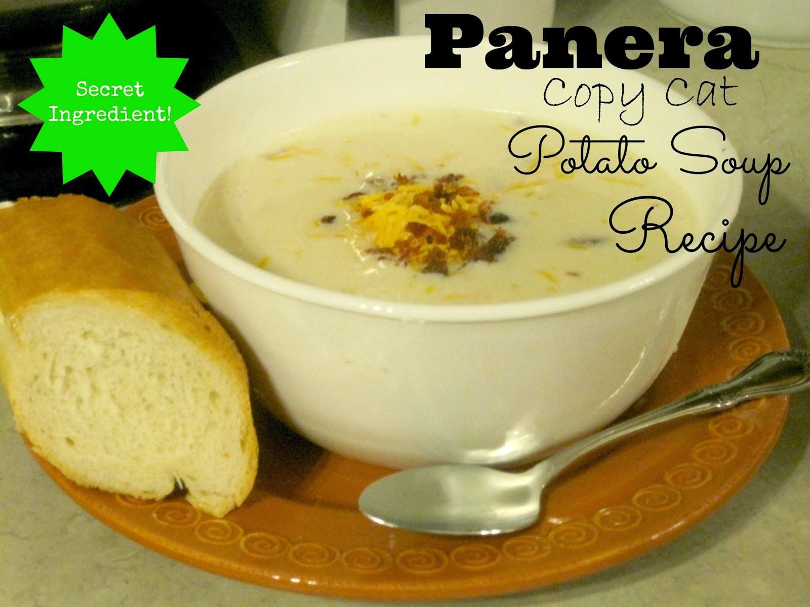 Baked Potato Soup Recipe  Decorated Chaos Potato Soup Recipe Panera Copy Cat