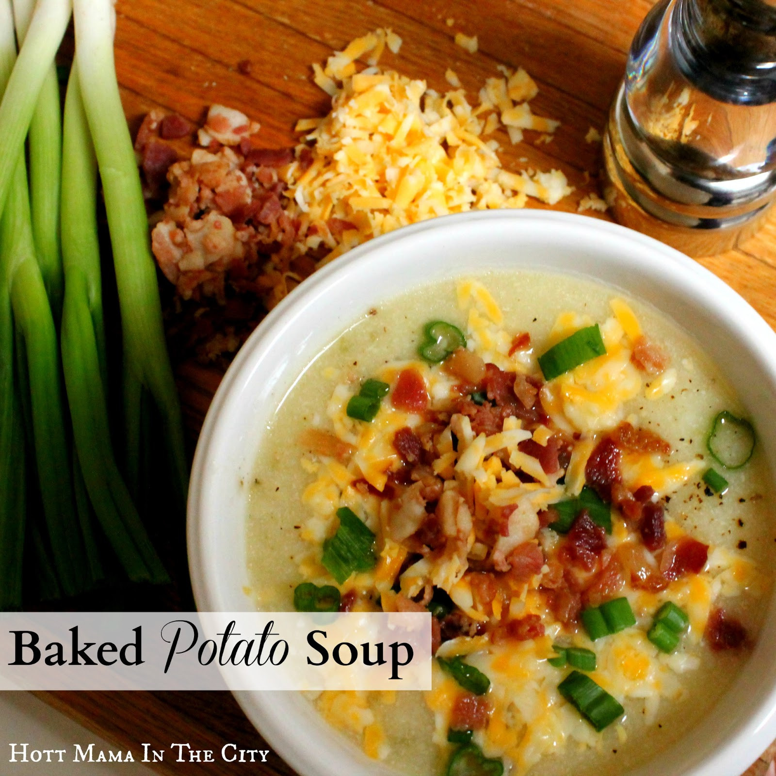 Baked Potato Soup Recipe  15 Soup and Chili Recipes How to Nest for Less™