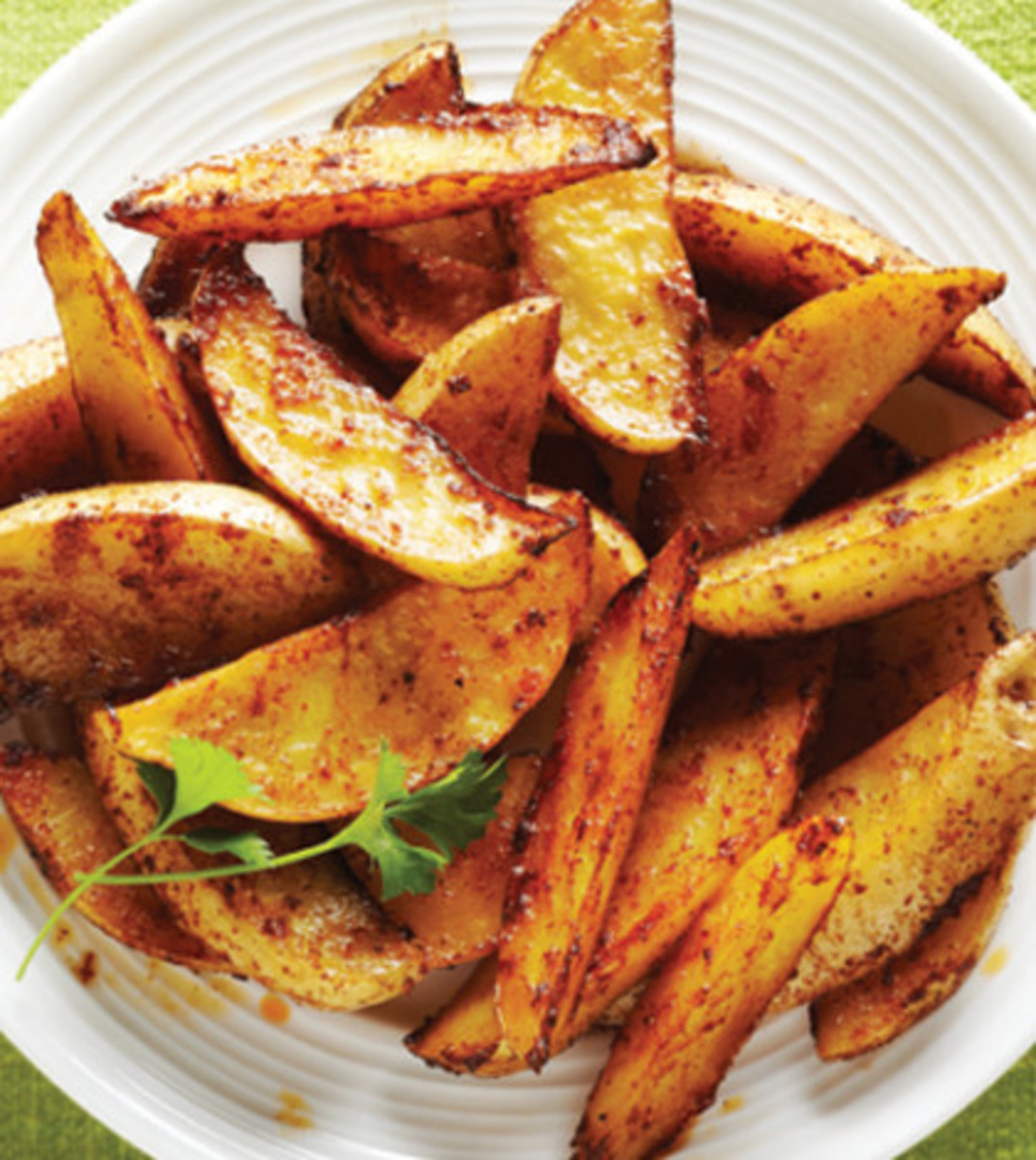 Baked Potato Wedges Recipe  grilled potato wedges calories