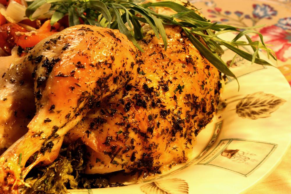 Baked Rosemary Chicken  Baked Rosemary Chicken