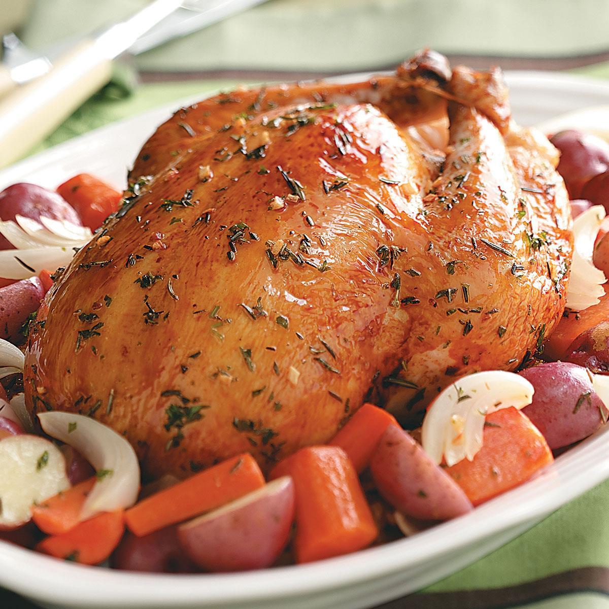 Baked Rosemary Chicken  Roasted Chicken with Rosemary Recipe