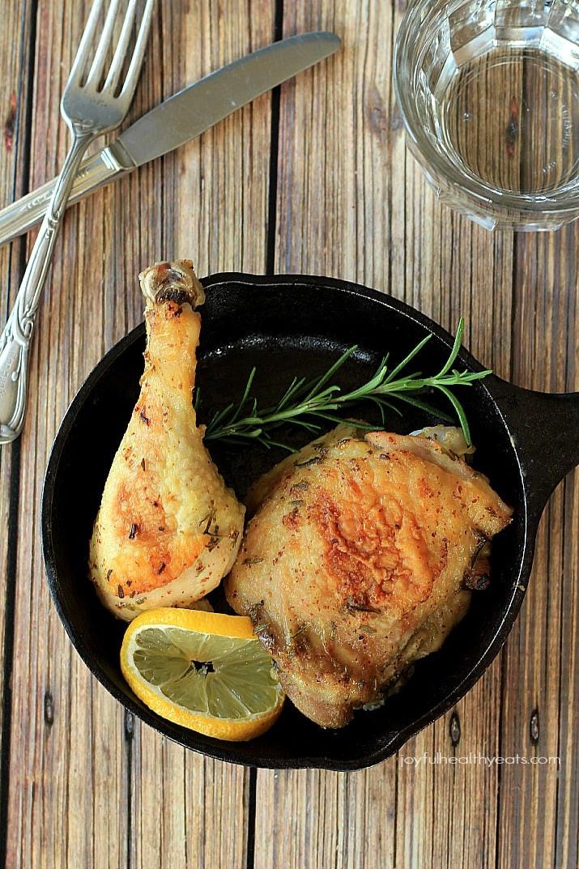 Baked Rosemary Chicken  Lemon Rosemary Baked Chicken