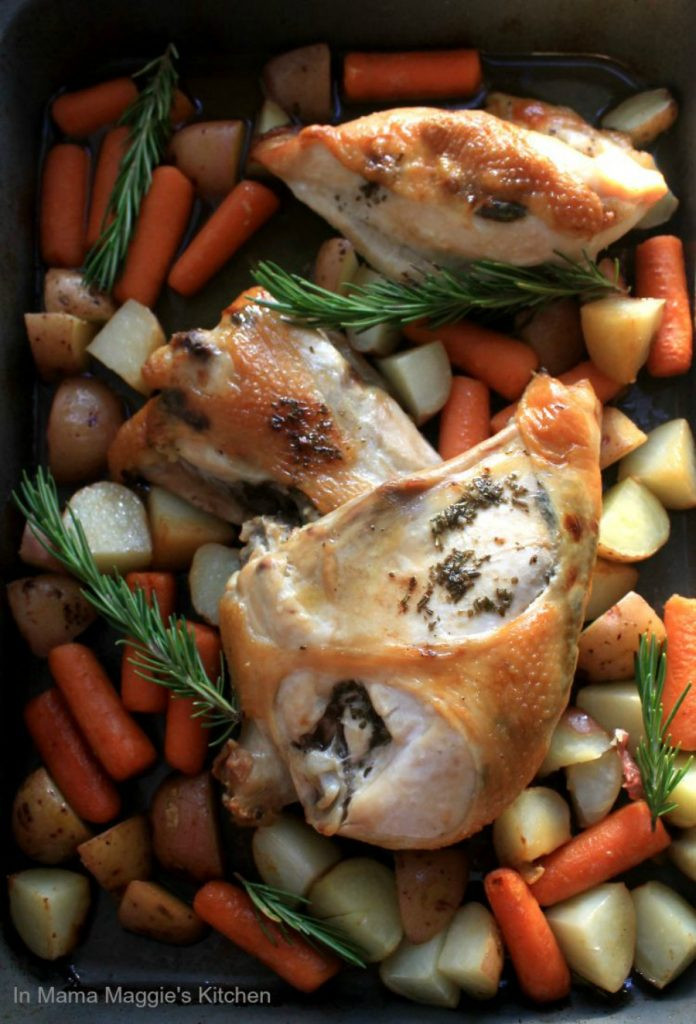 Baked Rosemary Chicken  Roasted Rosemary Chicken