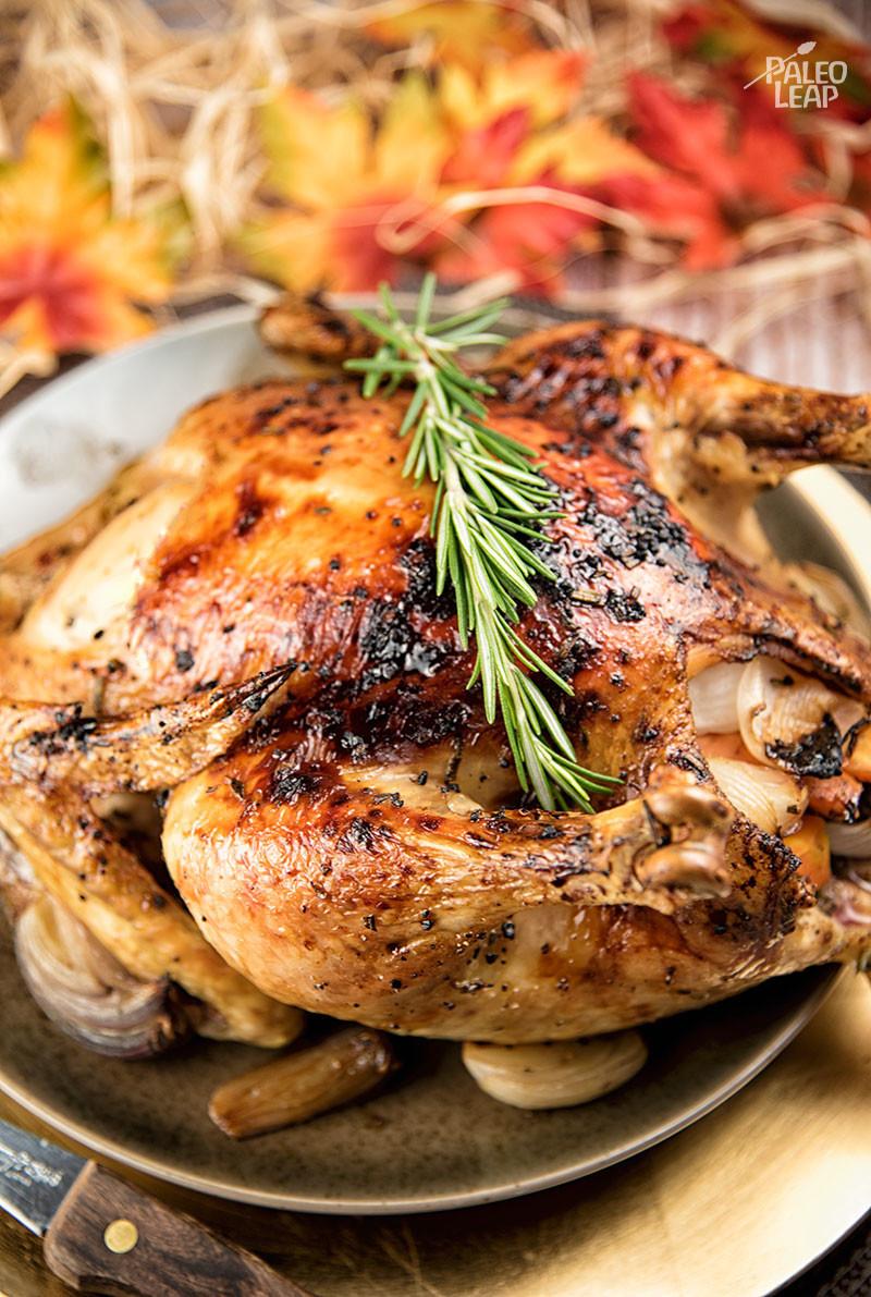 Baked Rosemary Chicken  Rosemary Honey Roast Chicken