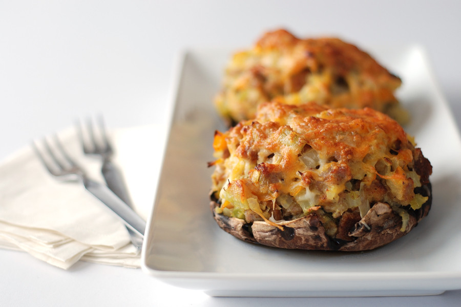 Baked Stuffed Portobello Mushroom Recipes  baked stuffed portobello mushroom recipes