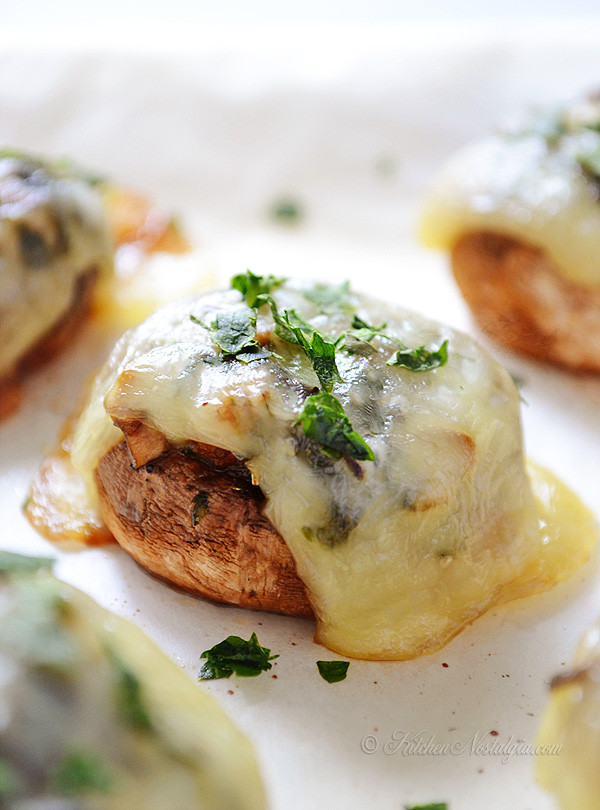 Baked Stuffed Portobello Mushroom Recipes  Baked Portobello Mushrooms