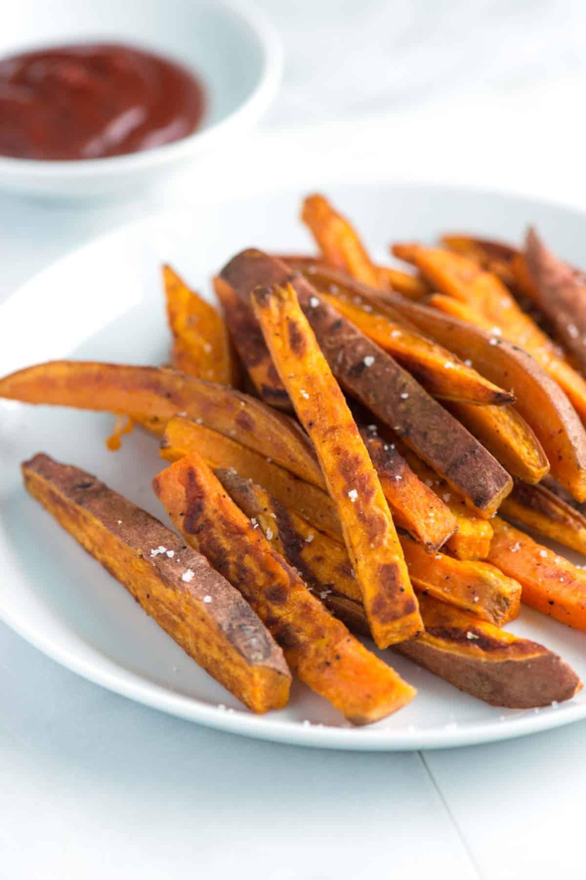 Baked Sweet Potato  Easy Homemade Baked Sweet Potato Fries Recipe