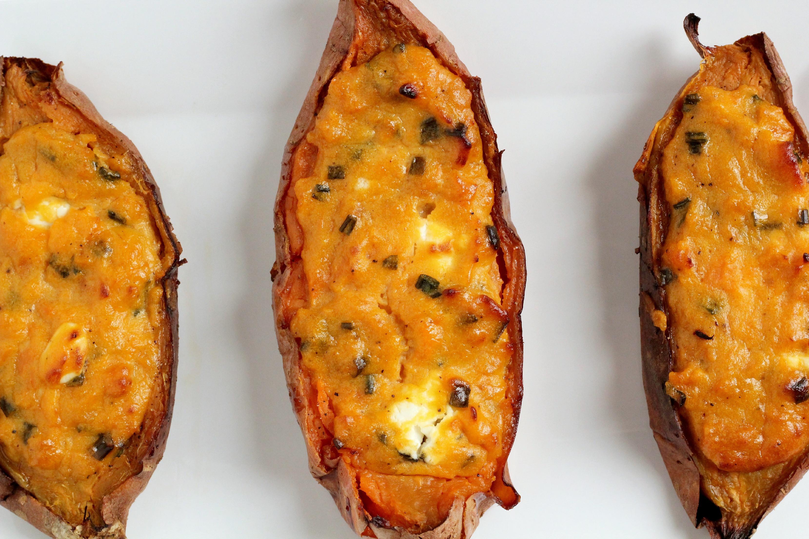 Baked Sweet Potato  Twice Baked Sweet Potatoes Bravo For Paleo