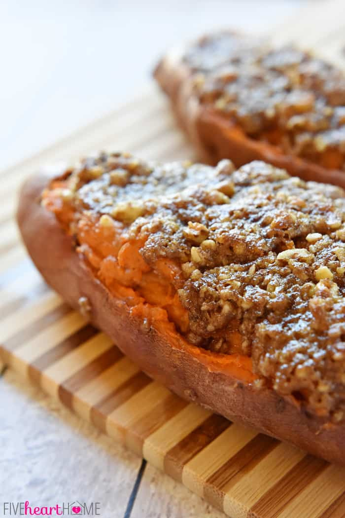 Baked Sweet Potato  twice baked sweet potatoes casserole