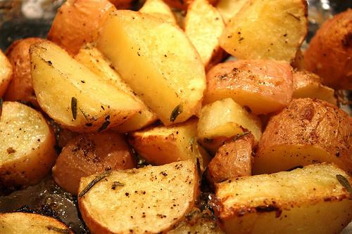 Baked Sweet Potato Cubes  Baked Potatoes – Living & Learning