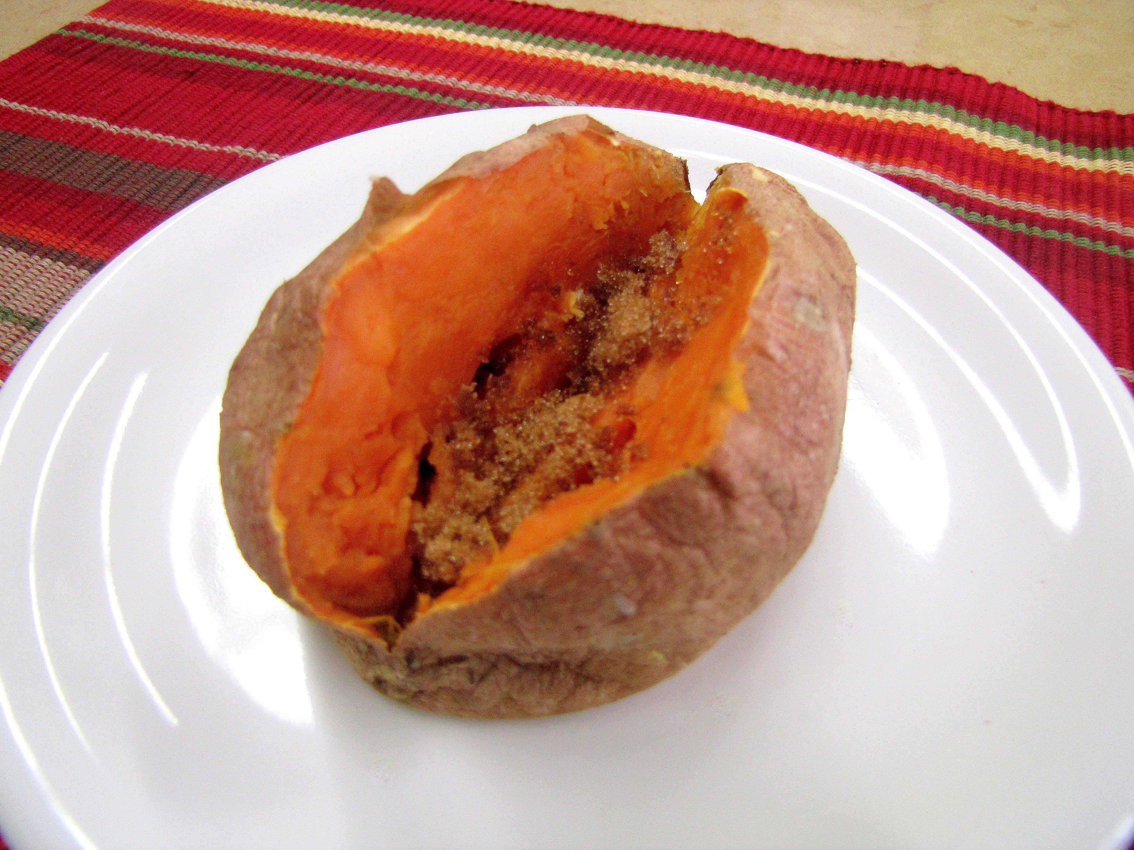 Baked Sweet Potato Microwave  Microwave Sweet Potato or Baked Potato — Food and Nutrition
