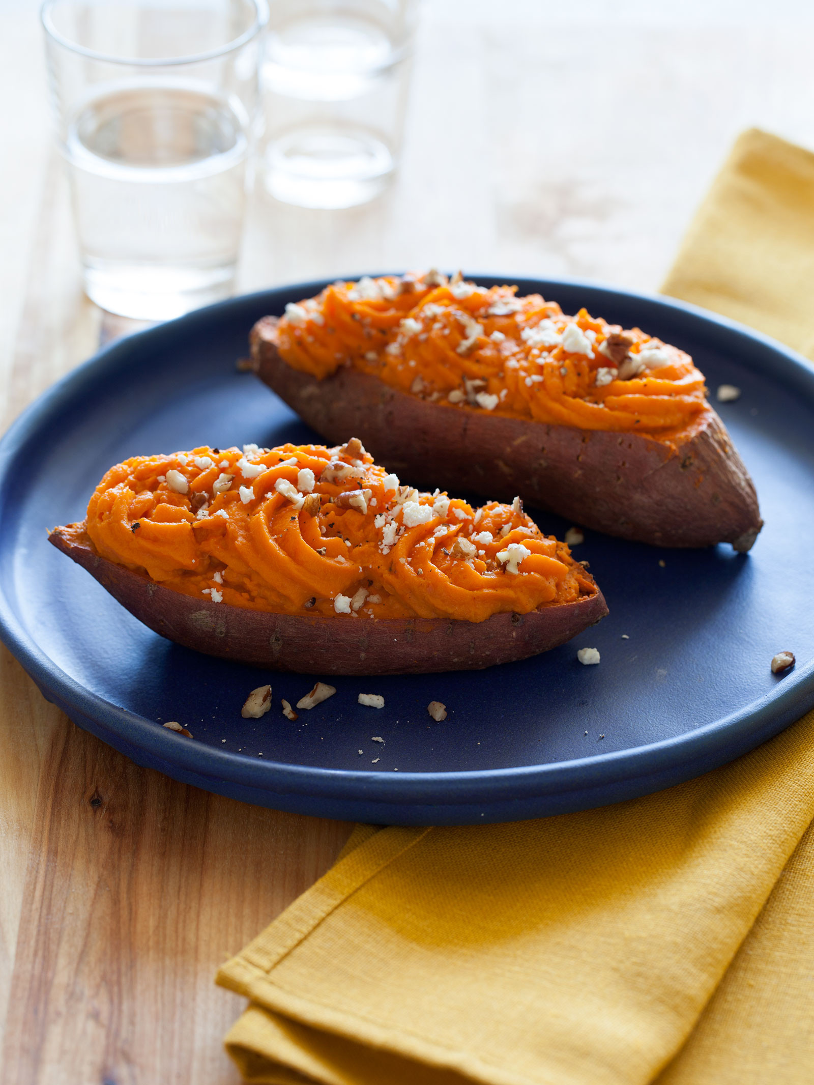 Baked Sweet Potato Recipe  recipe for twice baked sweet potatoes