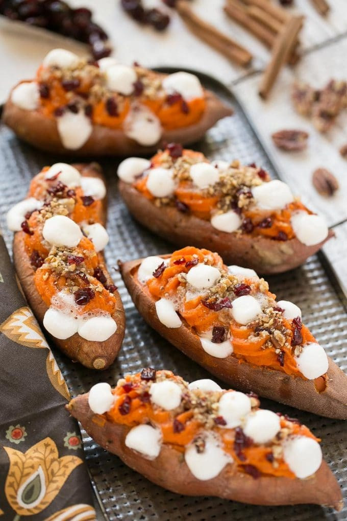 Baked Sweet Potato Recipe  Twice Baked Sweet Potatoes Dinner at the Zoo