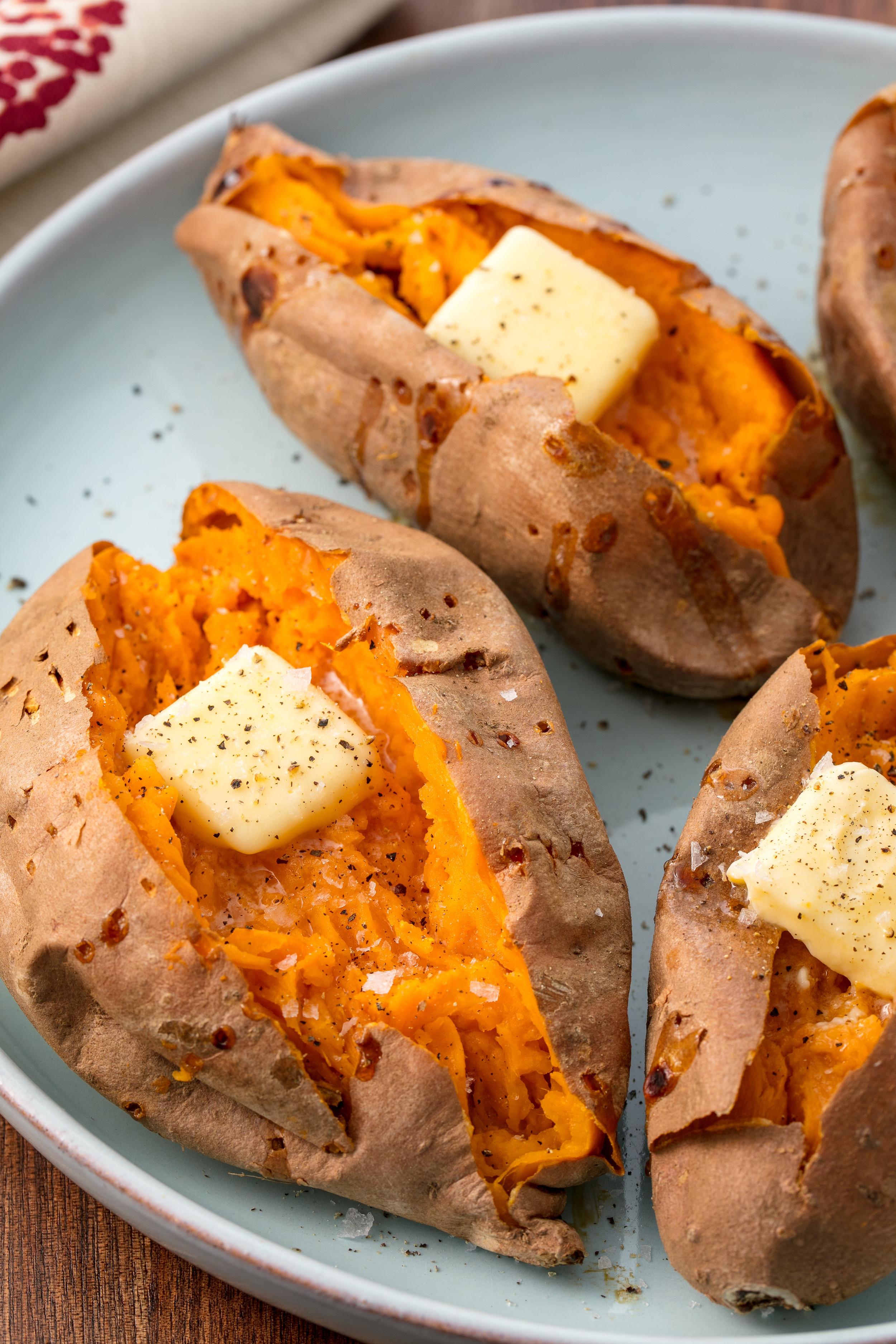 Baked Sweet Potato  30 Best Baked Potato Recipes Fully Loaded Baked