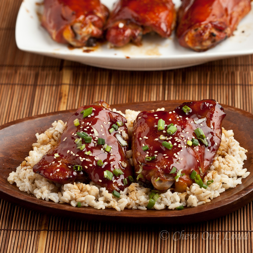 Baked Teriyaki Chicken Recipe  Baked Teriyaki Chicken Chew Out Loud