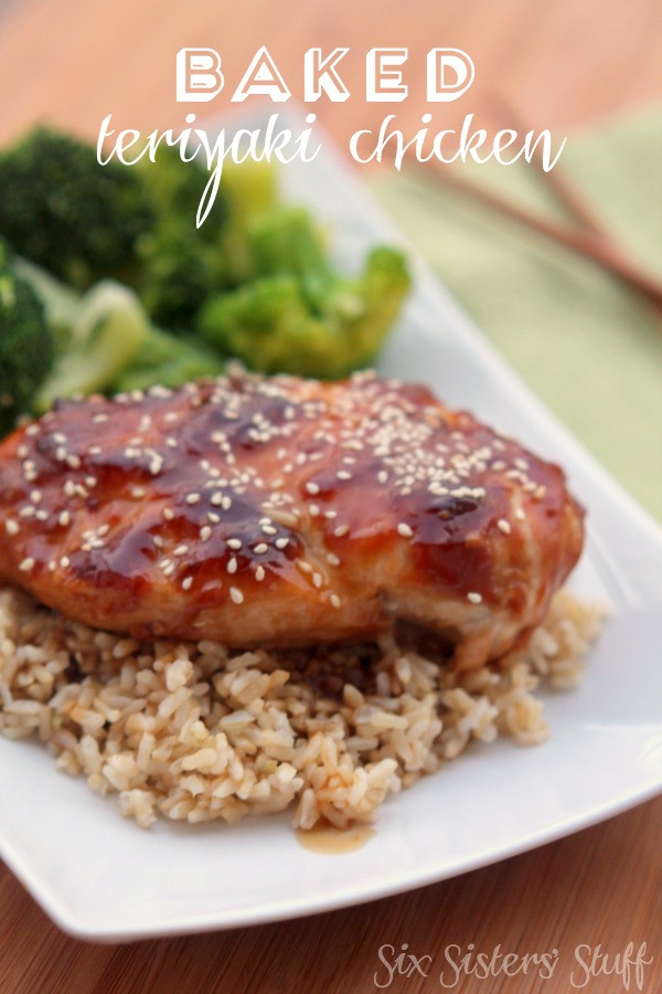 Baked Teriyaki Chicken Recipe  Baked Teriyaki Chicken Recipe