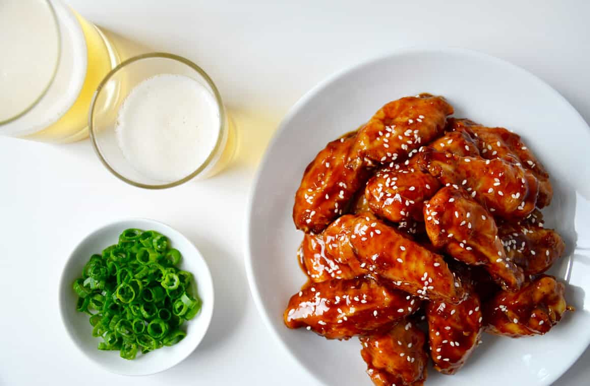 Baked Teriyaki Chicken Recipe  Crispy Baked Teriyaki Chicken Wings