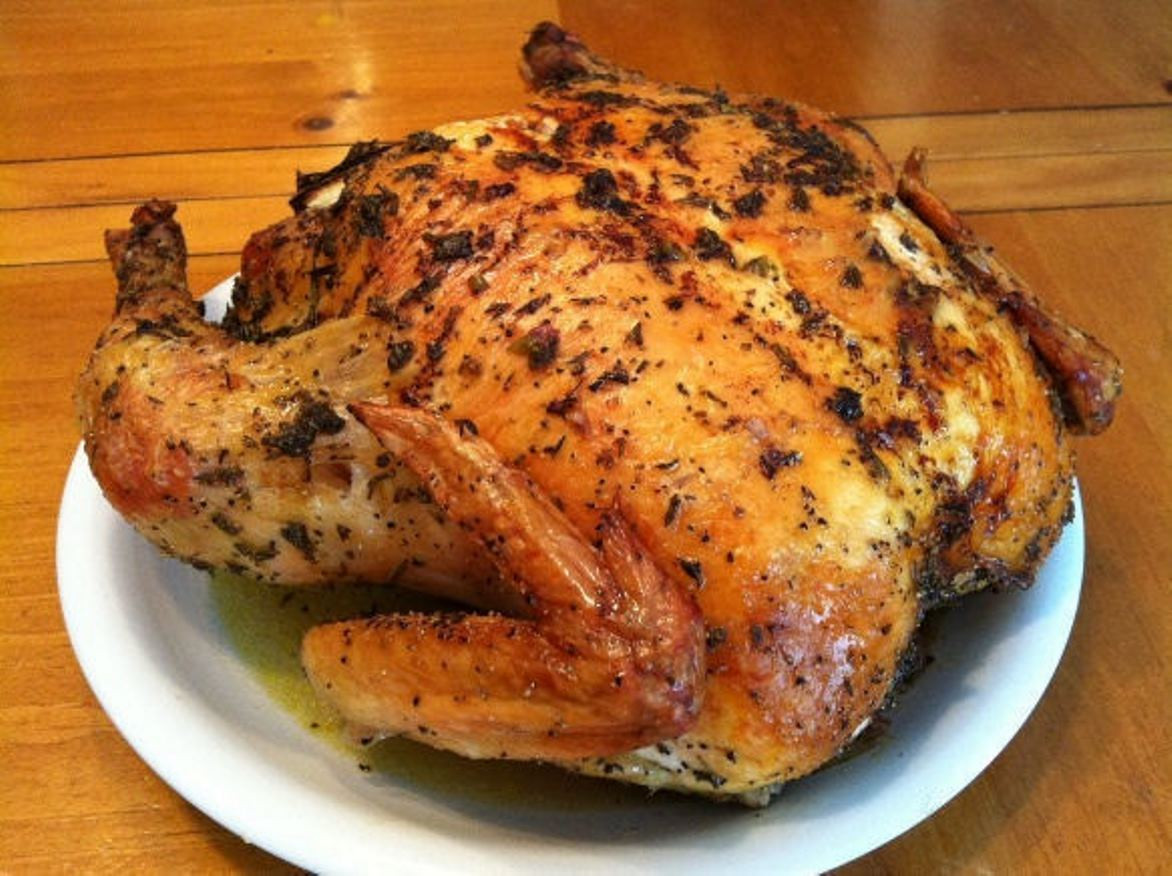 Baking A Whole Chicken  Herb Roasted Whole Chicken Recipe
