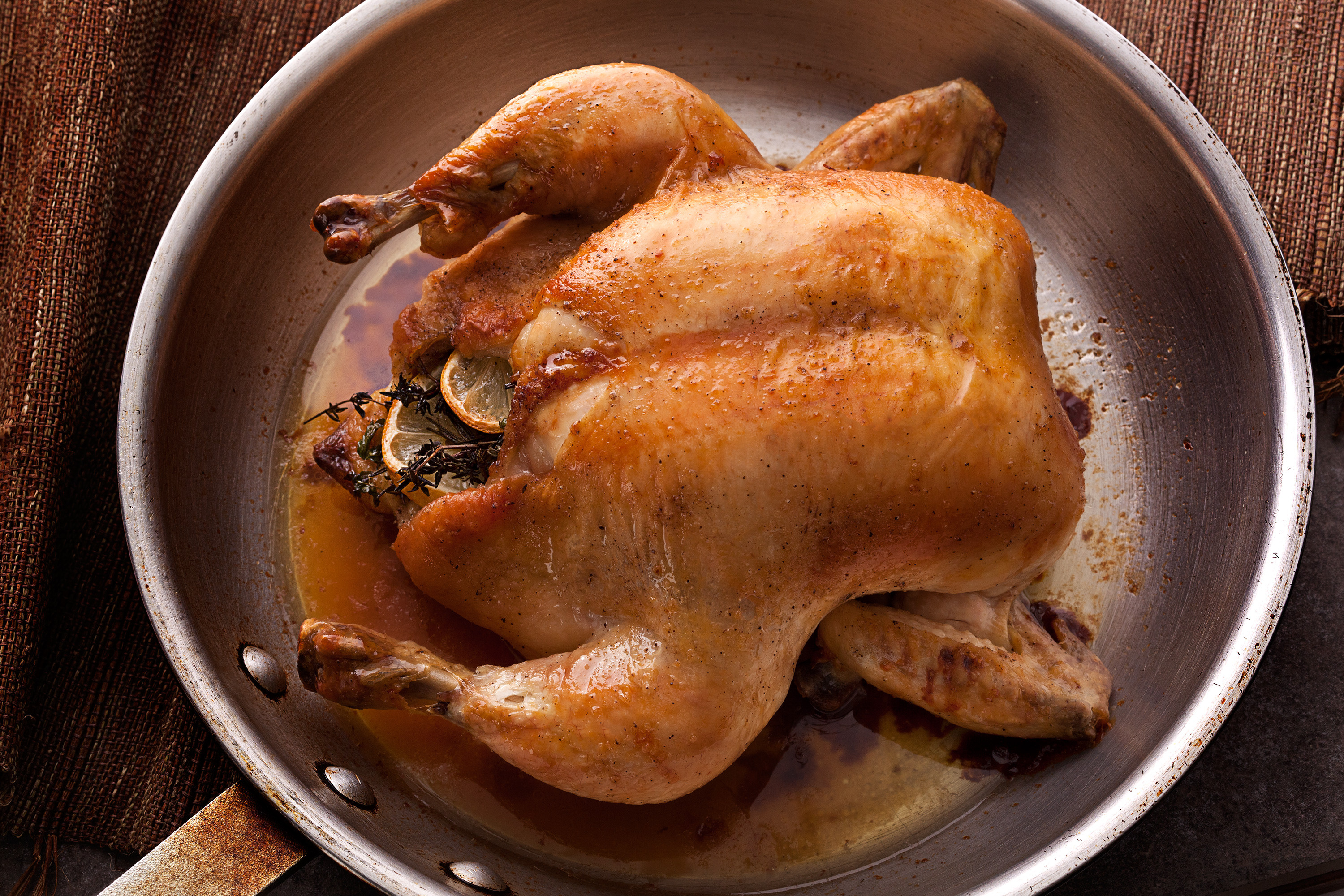 Baking A Whole Chicken  Basic Whole Roasted Chicken Recipe Chowhound