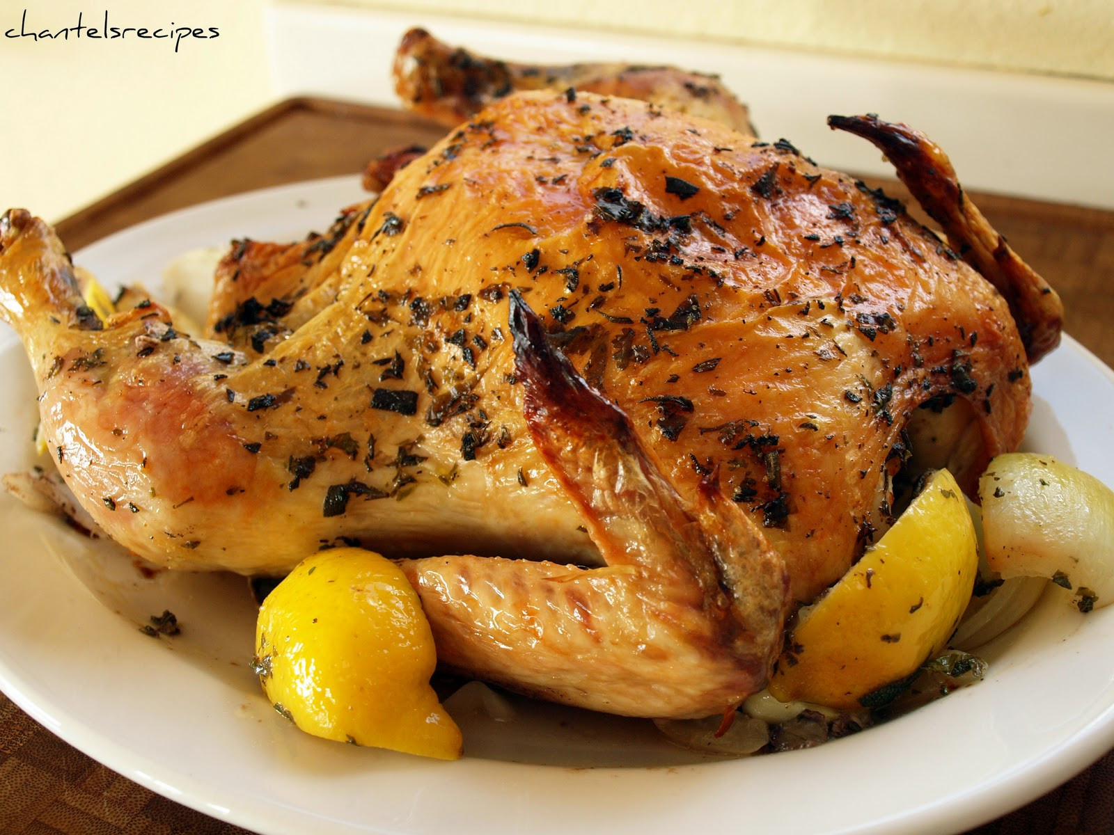 Baking A Whole Chicken  Roasted Whole Chicken