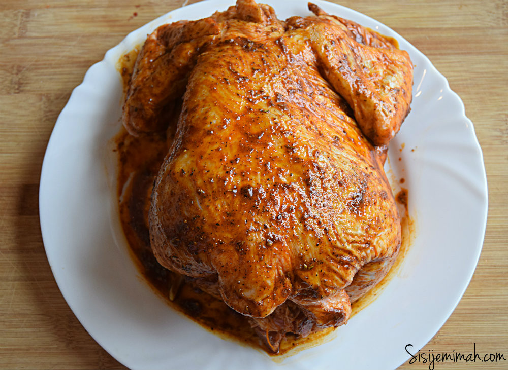 Baking A Whole Chicken  Oven Roasted Whole Chicken Recipe Sisi Jemimah