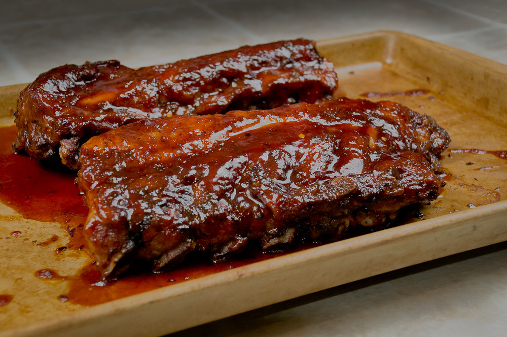 Baking Pork Ribs  Easy fall off the bone Oven Baked Pork Spare Ribs