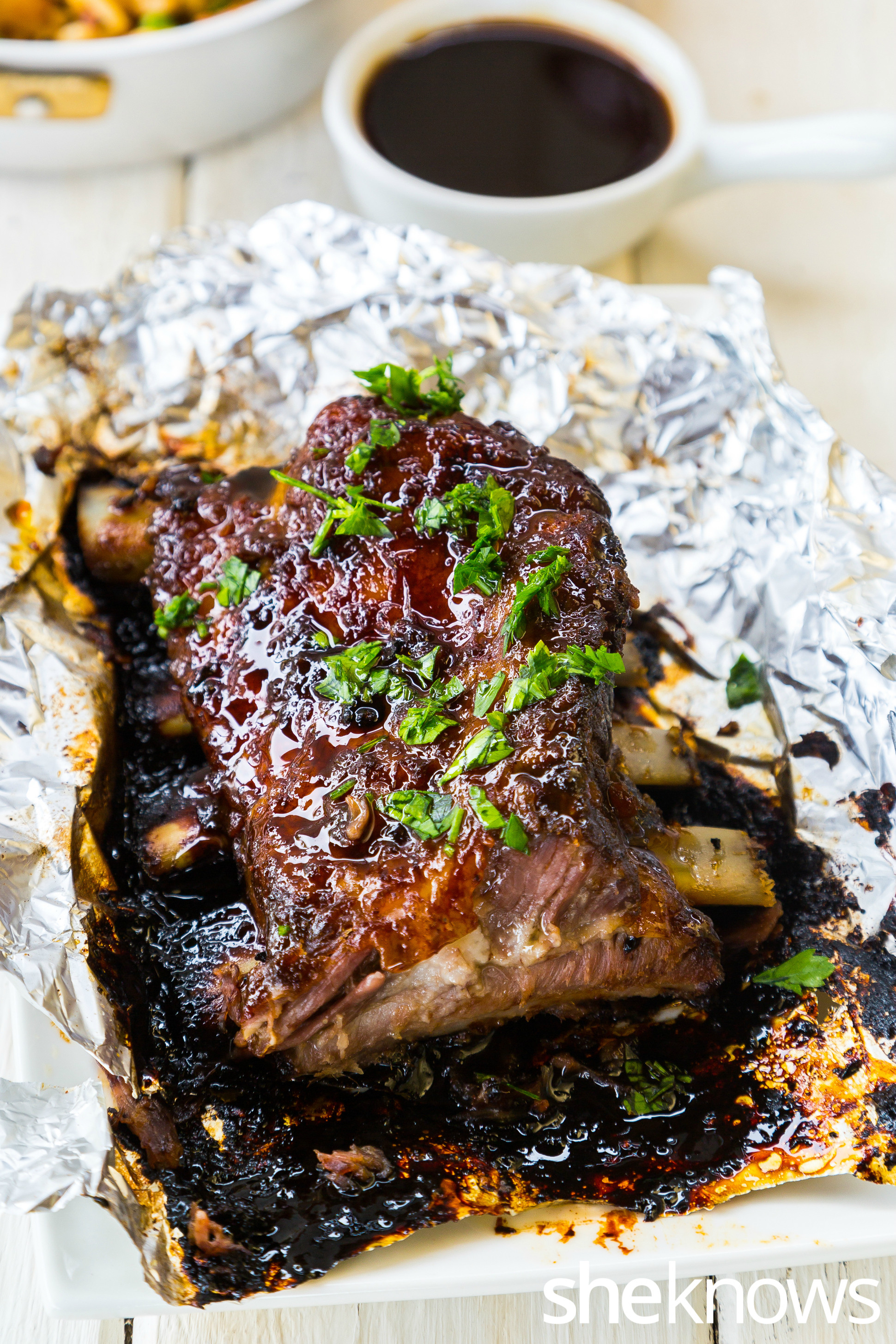 Baking Pork Ribs  Mouthwatering Asian style pork ribs are fall off the bone