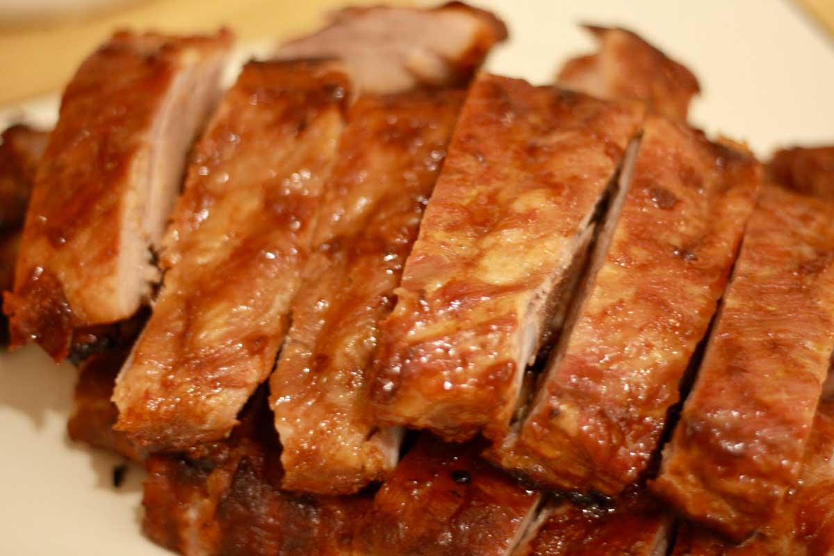 Baking Pork Ribs  Healthy Meat Yes There Is Such a Thing