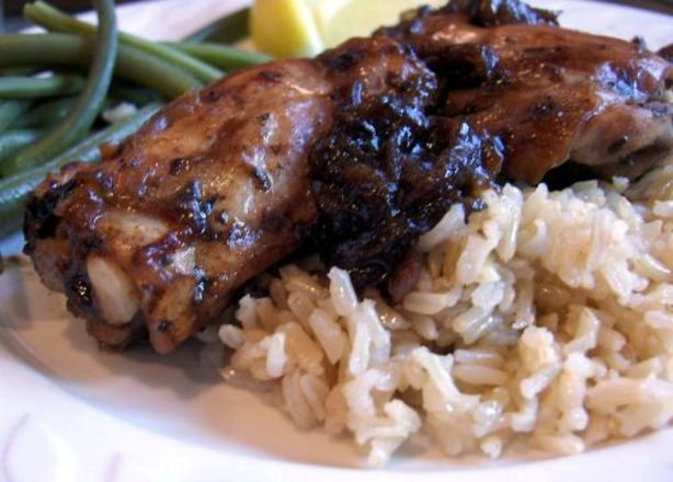 Balsamic Chicken Thighs  Balsamic Chicken Thighs With Red ions Recipe Food