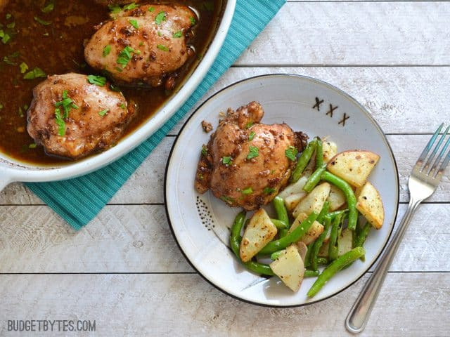 Balsamic Chicken Thighs  Balsamic Chicken Thighs Bud Bytes