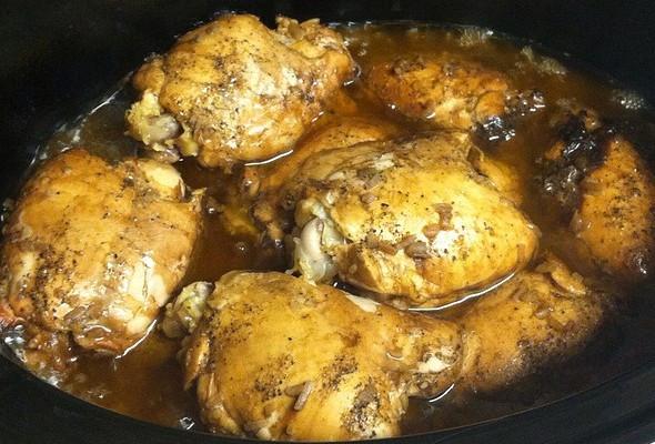 Balsamic Chicken Thighs  Crock Pot Recipes – Balsamic Chicken Thighs