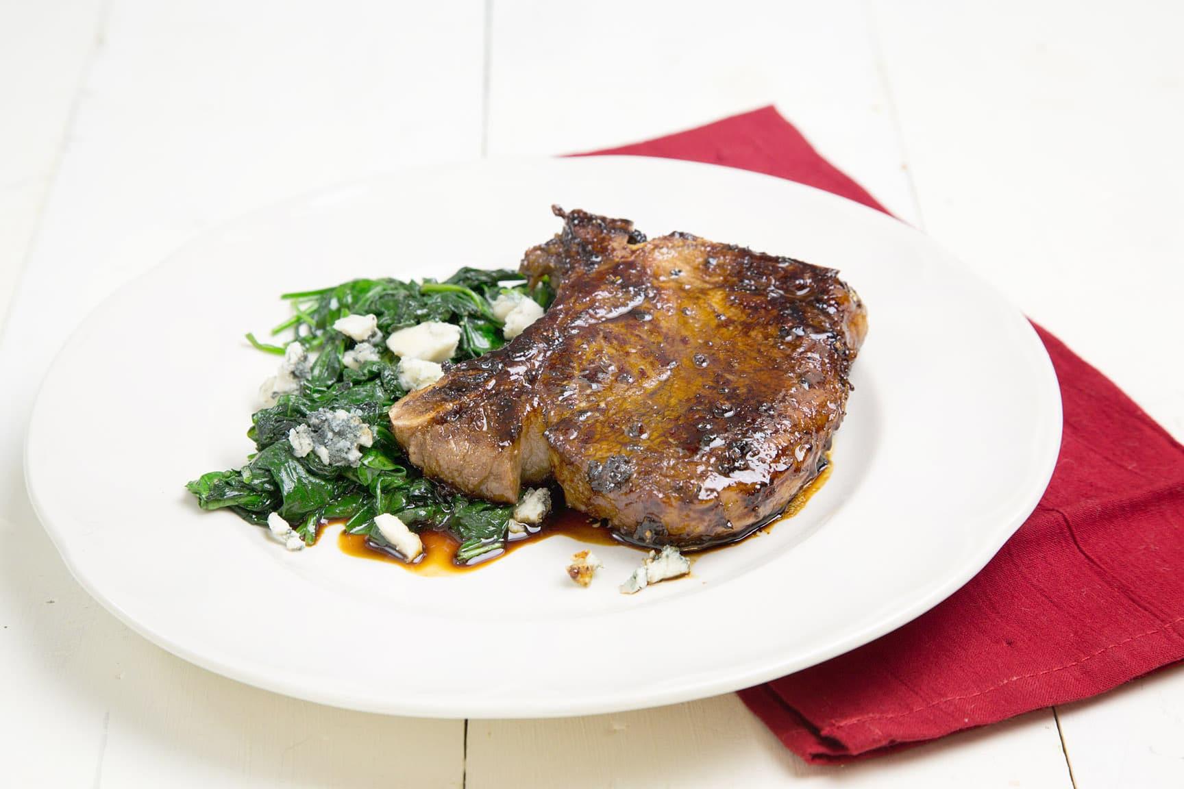 Balsamic Pork Chops  Balsamic Glazed Pork Chops