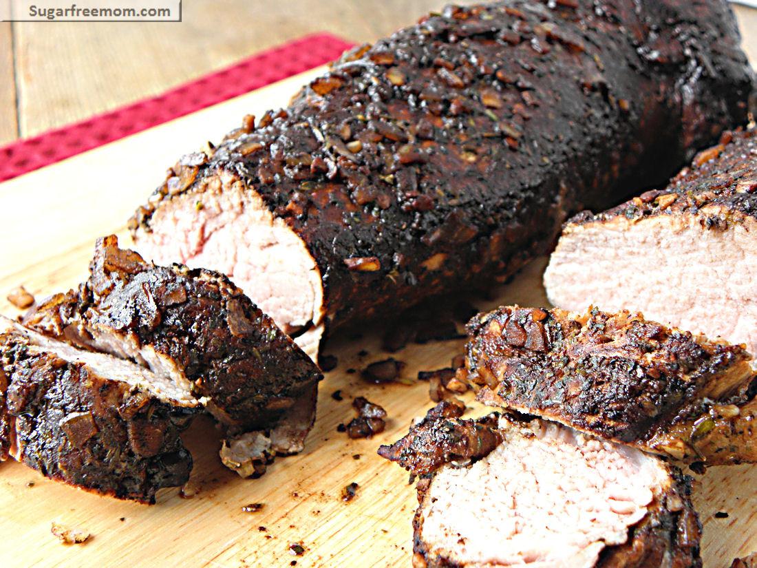 Balsamic Pork Tenderloin  Crock Pot Balsamic Pork Tenderloin