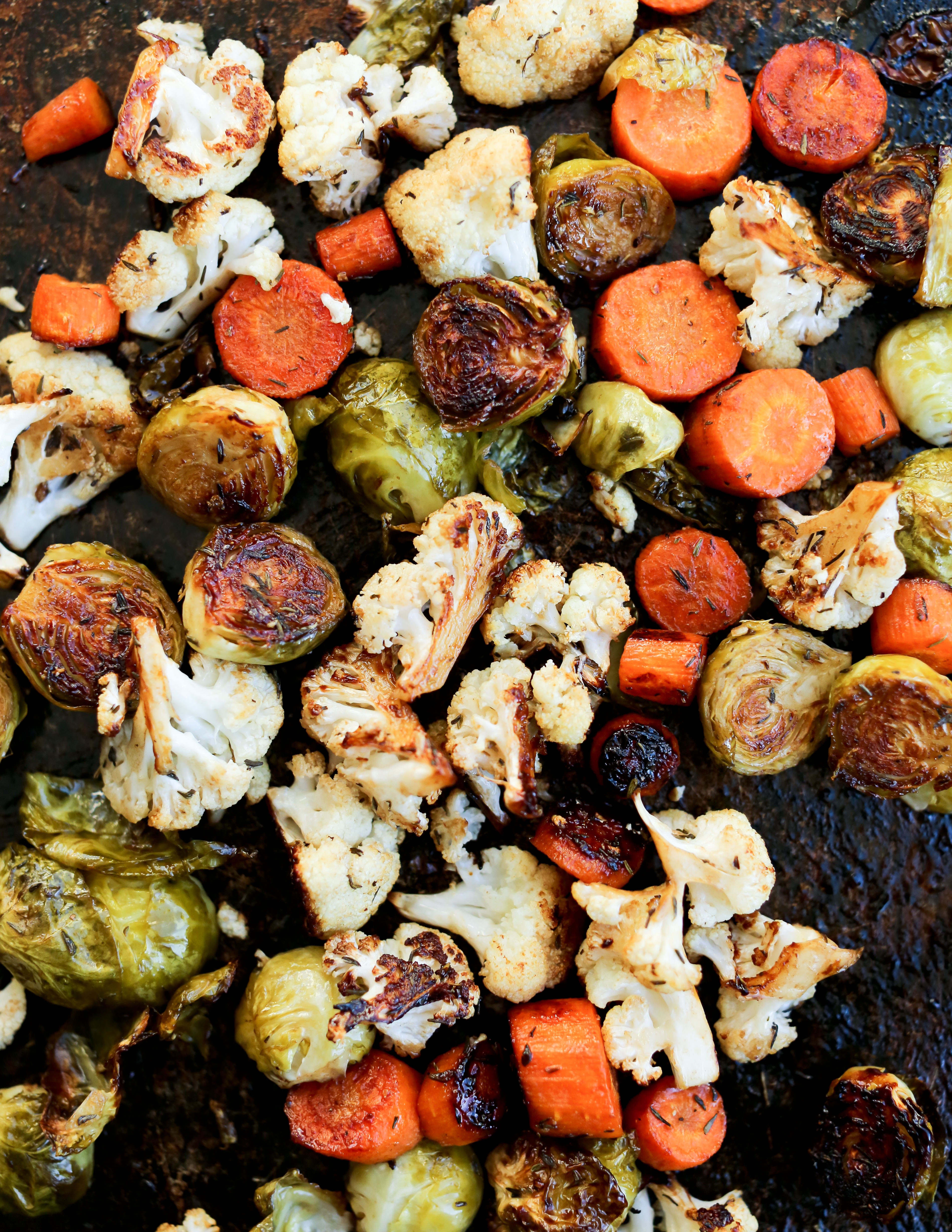Balsamic Roasted Vegetables  Balsamic Roasted Ve ables Recipe Happy Healthy Mama