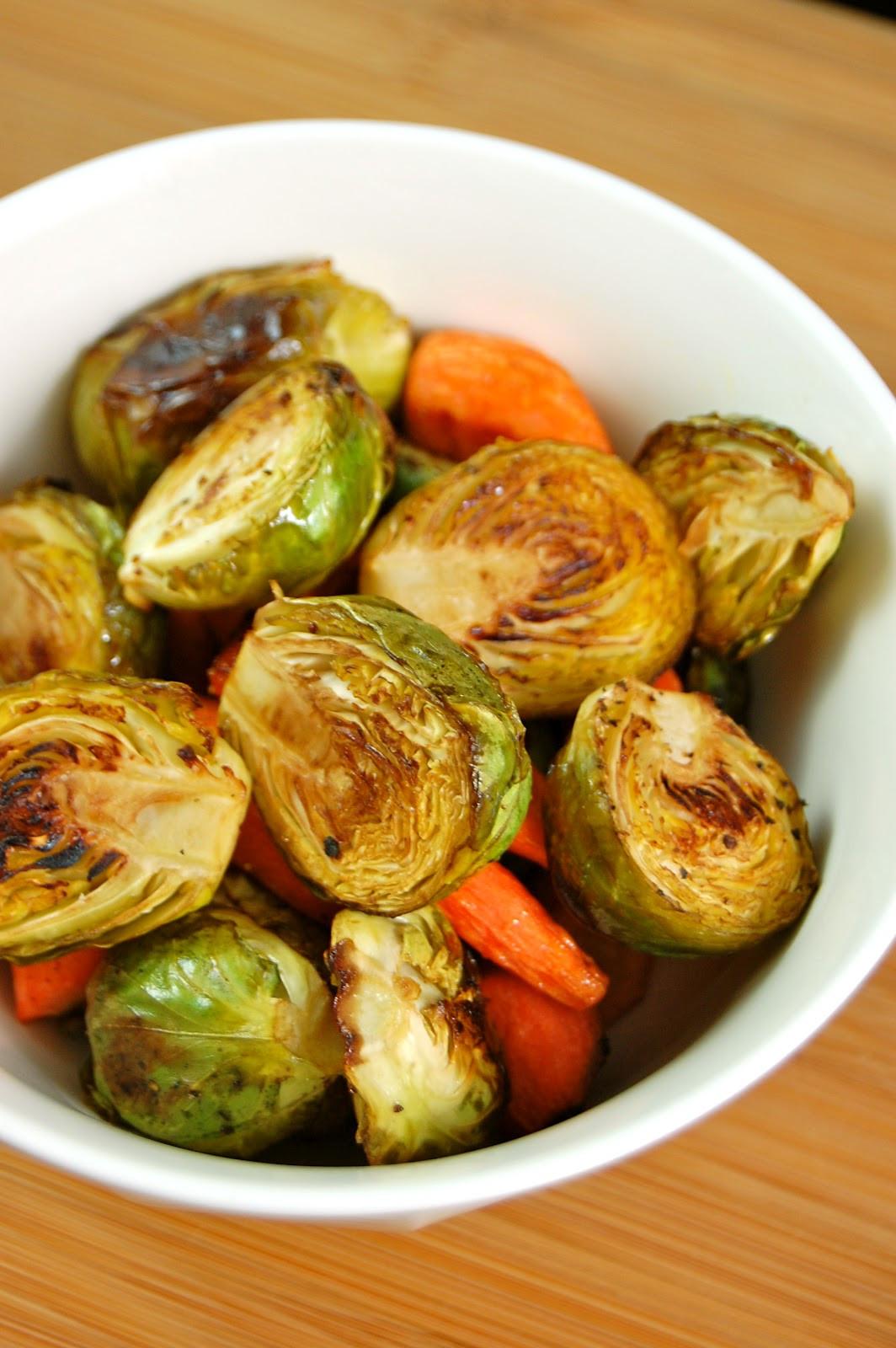Balsamic Roasted Vegetables  La Petite Maison Verte Balsamic Roasted Ve ables