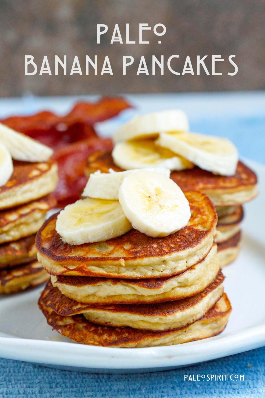 Banana And Egg Pancakes  Paleo Banana Pancakes Grain Gluten Dairy free