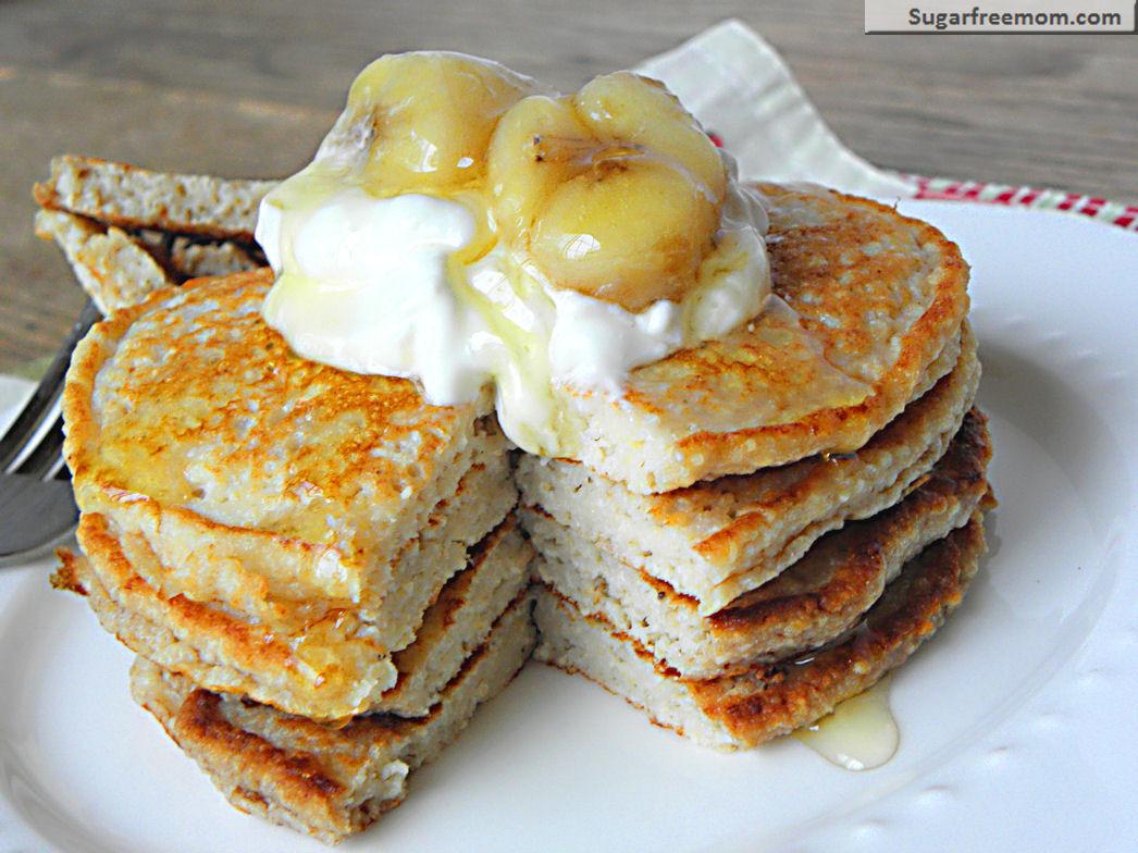 Banana And Egg Pancakes  Banana Oat Protein Pancakes [Gluten Free] & 10 Christmas