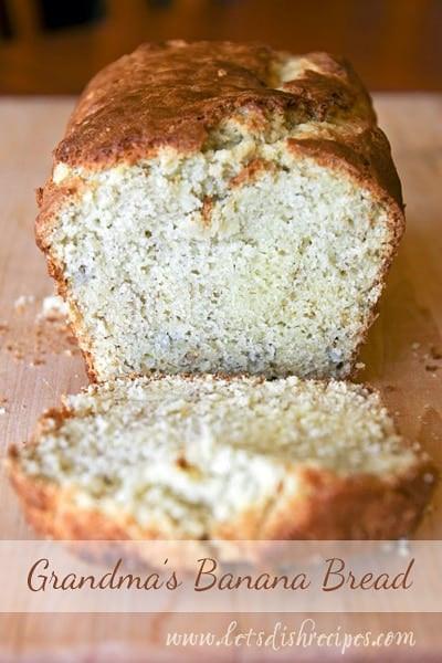 Banana Bread Alton Brown  Grandma s Banana Bread — Let s Dish Recipes