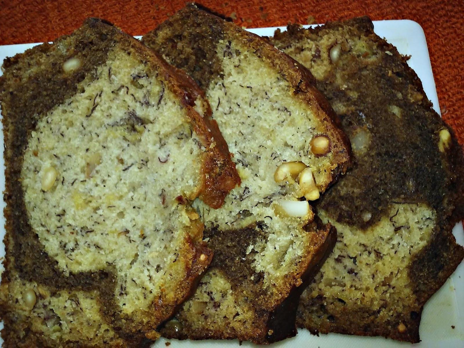 Banana Bread Alton Brown  Passion Kneaded Coffee Spiked Banana Cashew Bread
