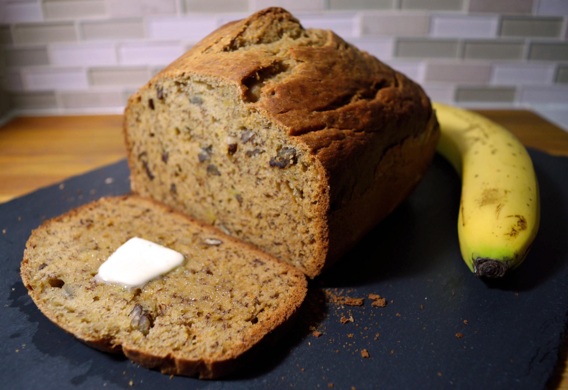 Banana Bread Bread Machine  Moist Banana Bread Recipe [Bread Machine] Bakerology