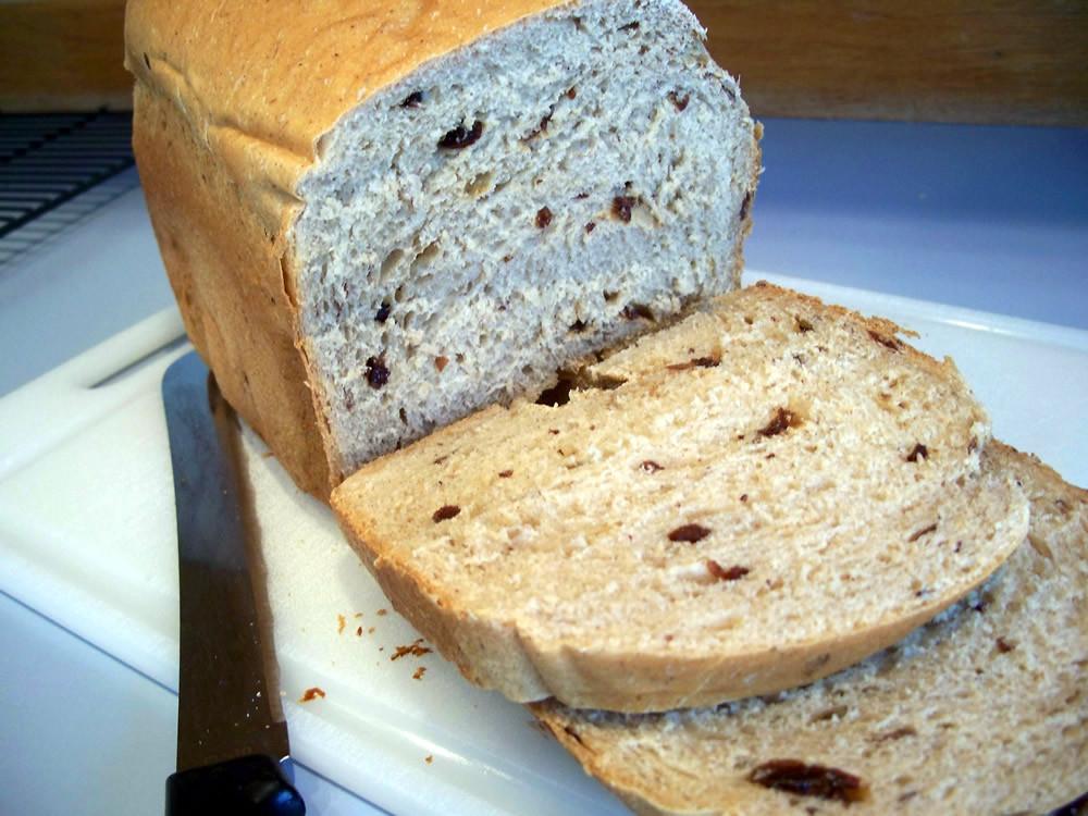 Banana Bread Bread Machine  Banana Raisin Bread Recipe for the Bread Machine